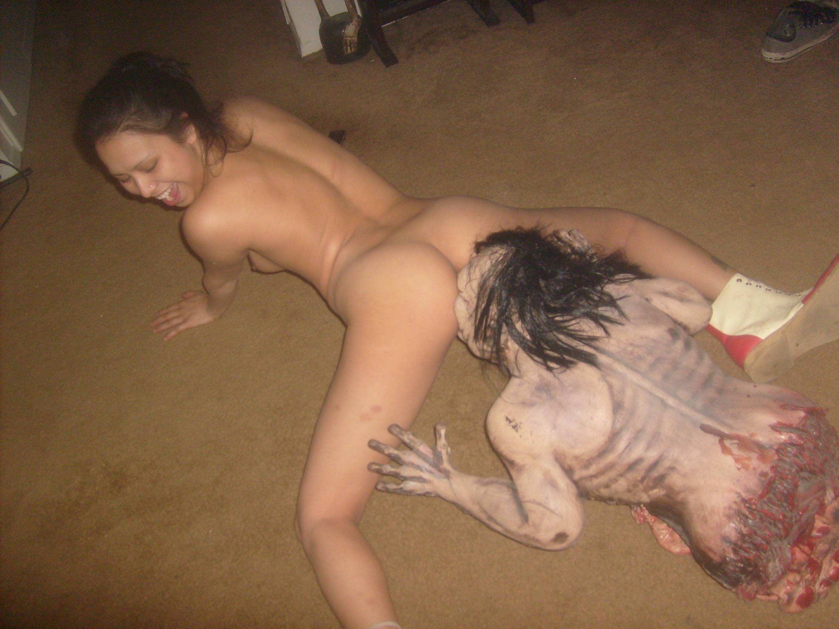 Zombie hot fucking nude erotic photo