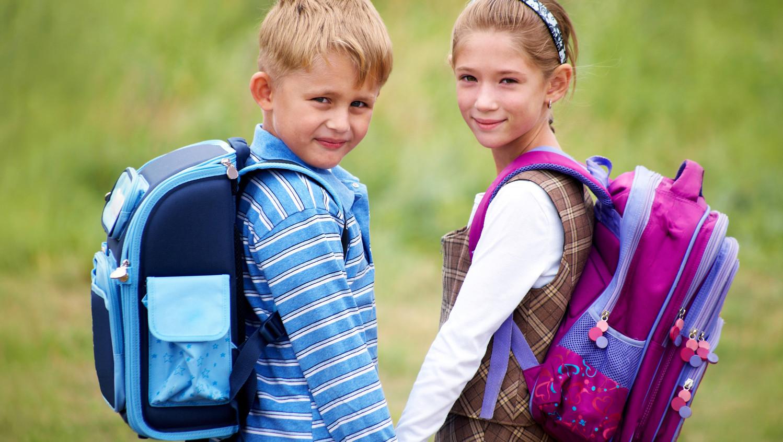 Фото дети с портфелями