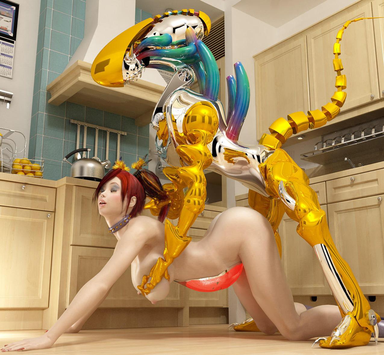 Robot girl porn sex pics