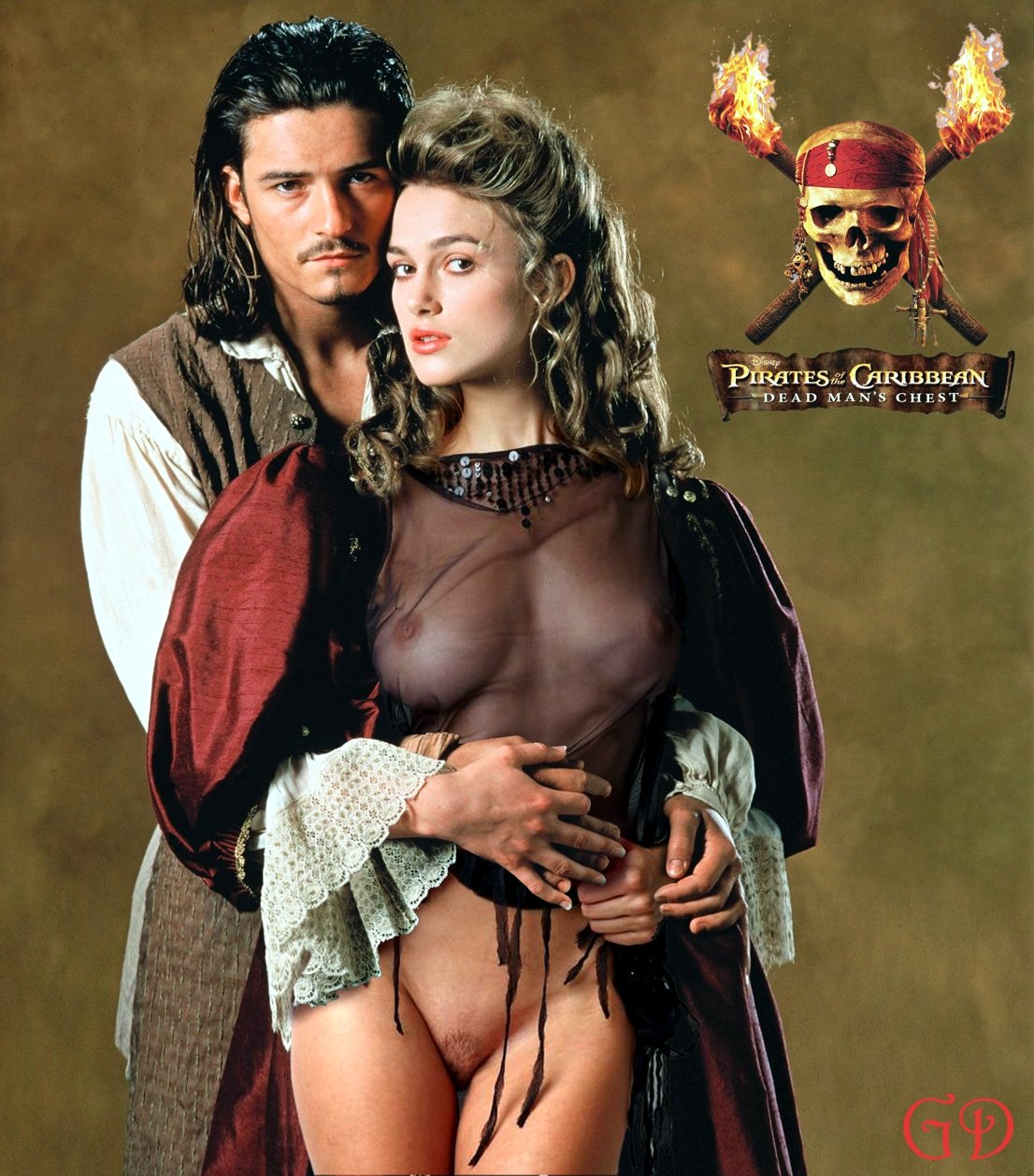 Pirates of the caribbean xxx pic pron scene