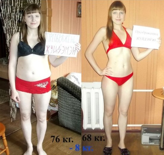 Похудеть за неделю на 8 кг в домашних условиях
