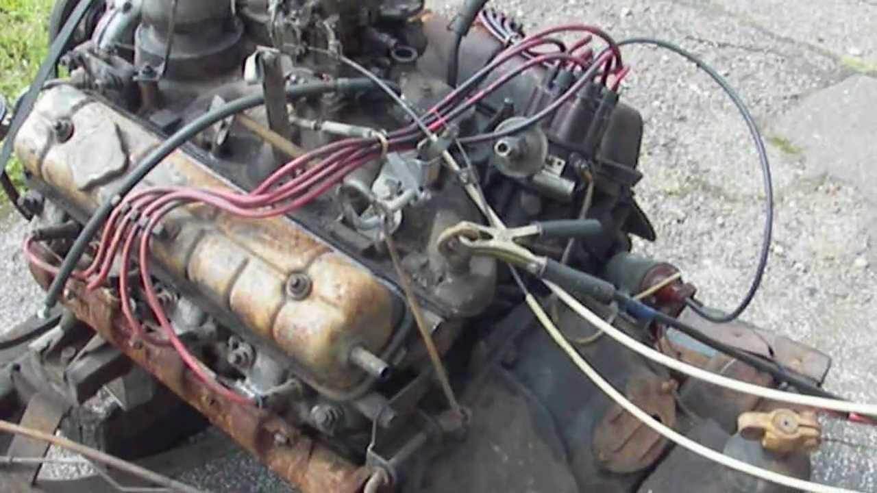 Разборка двигателя газ 53 видео