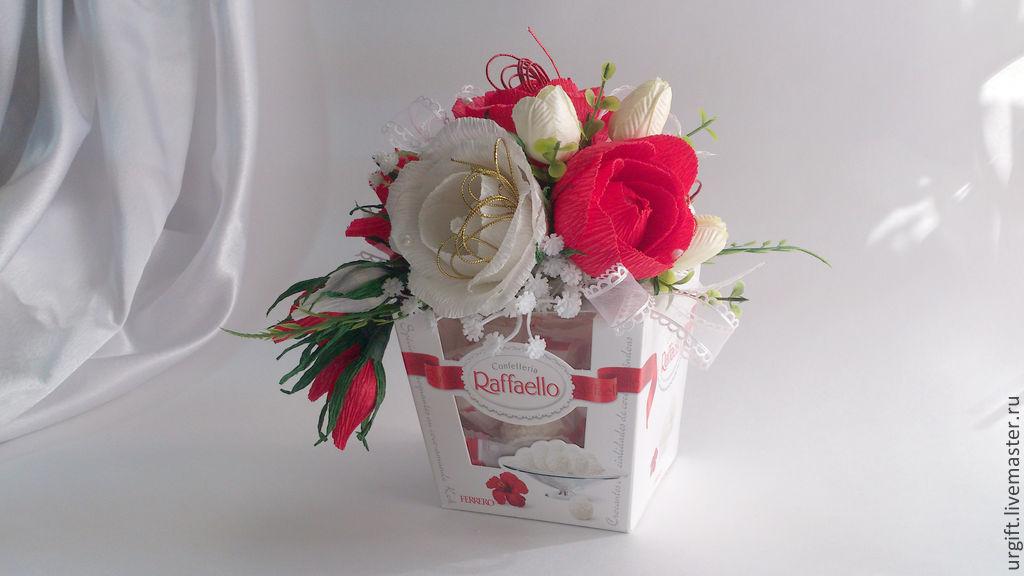 Подарки из цветов гофрированной