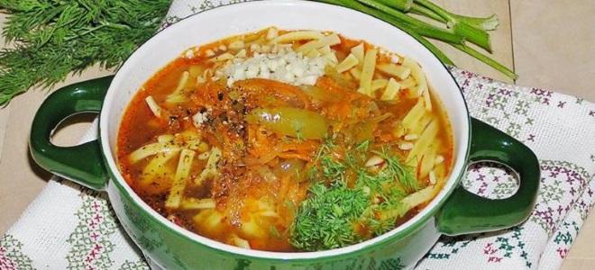 Рецепт супа лагмана в домашних условиях из говядины фото пошагово