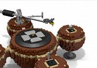 Из LEGO сделали работающий виниловый проигрыватель