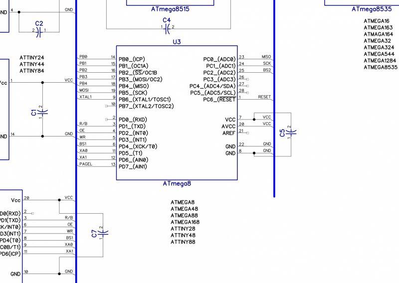 Usb программатор своими руками для atmega 96
