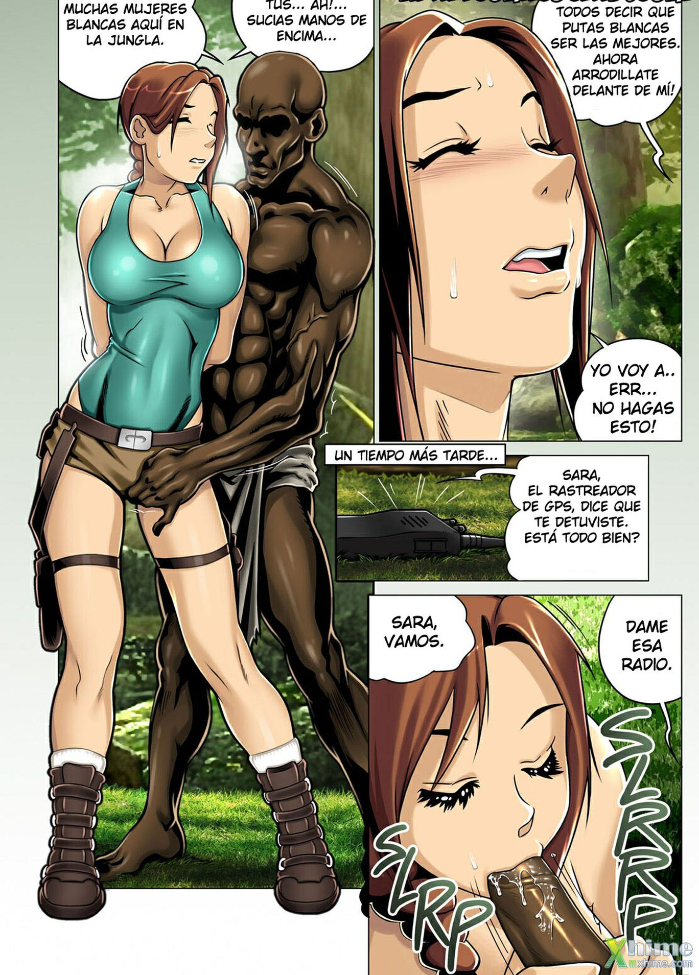 Lara croft cartoon porno naked images