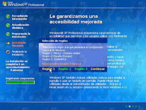 Windows Essential - Install manually XP SP3
