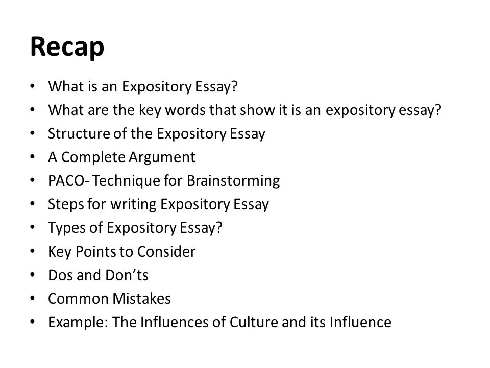 Expository Essay Writing - Definition, Topics, Rubrics