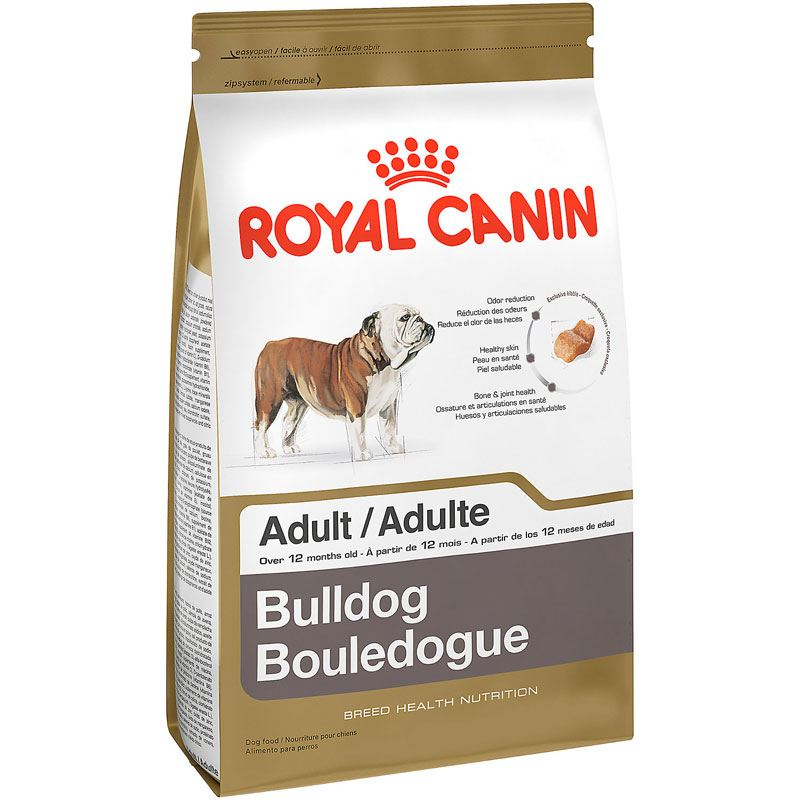 Корм royal canin bulldog 24