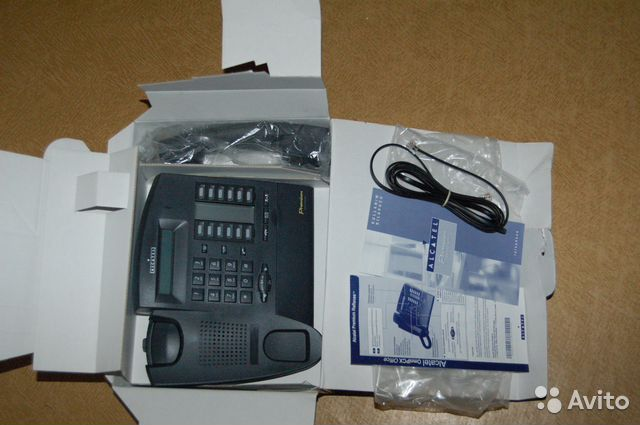 Alcatel premium reflexes 4020 user manual