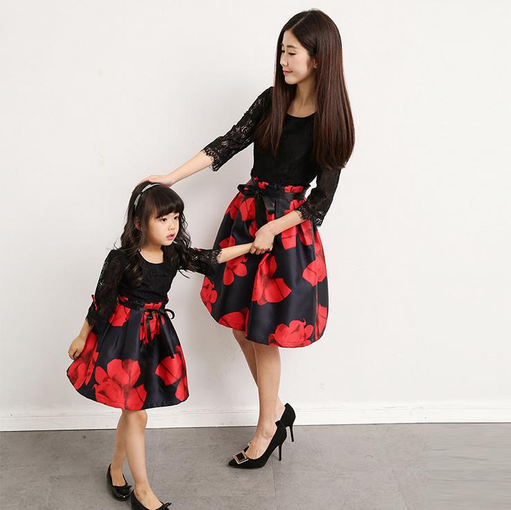 Одежда для мам и дочек на алиэкспресс