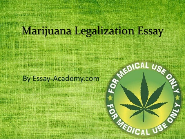 Marijuana Legalization is an Opportunity to Modernize