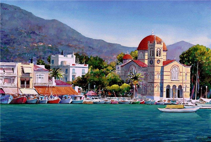 Коттедж в остров Эгина на берегу моря недорого