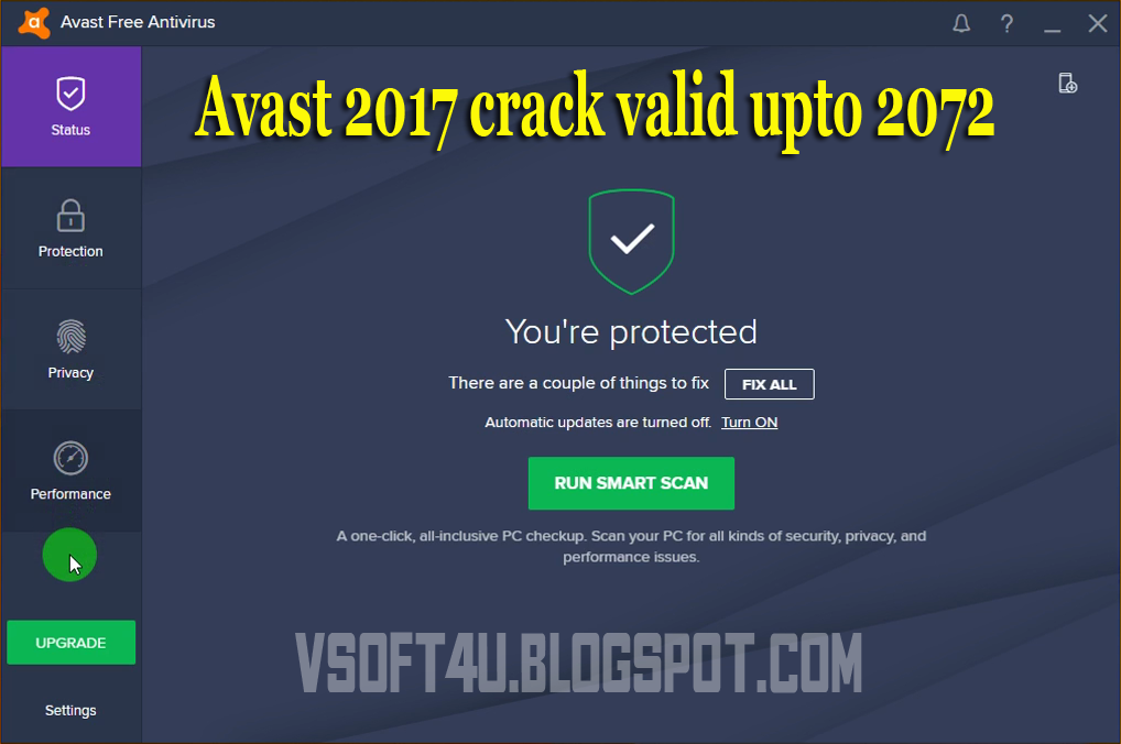 Avast Pro Antivirus 2018 1772 Crack License Key