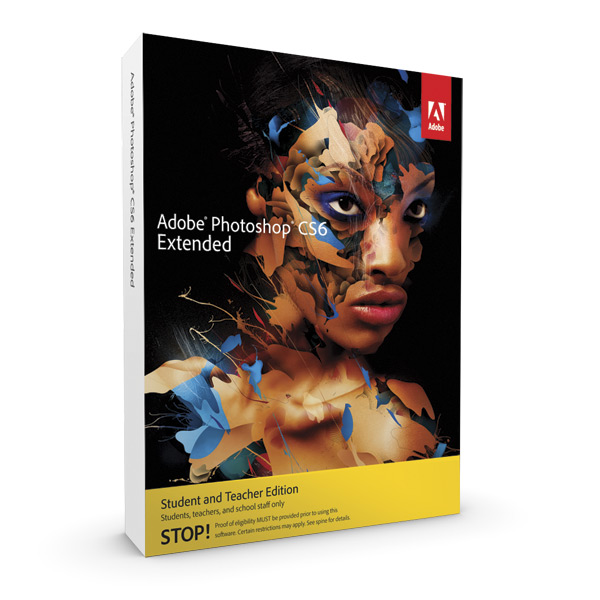 Adobe Photoshop Extended Cs6 Student And Teacher