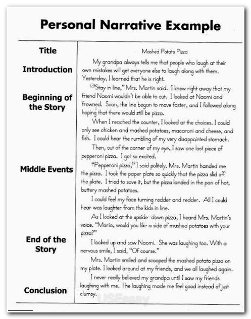 Sad story essay example