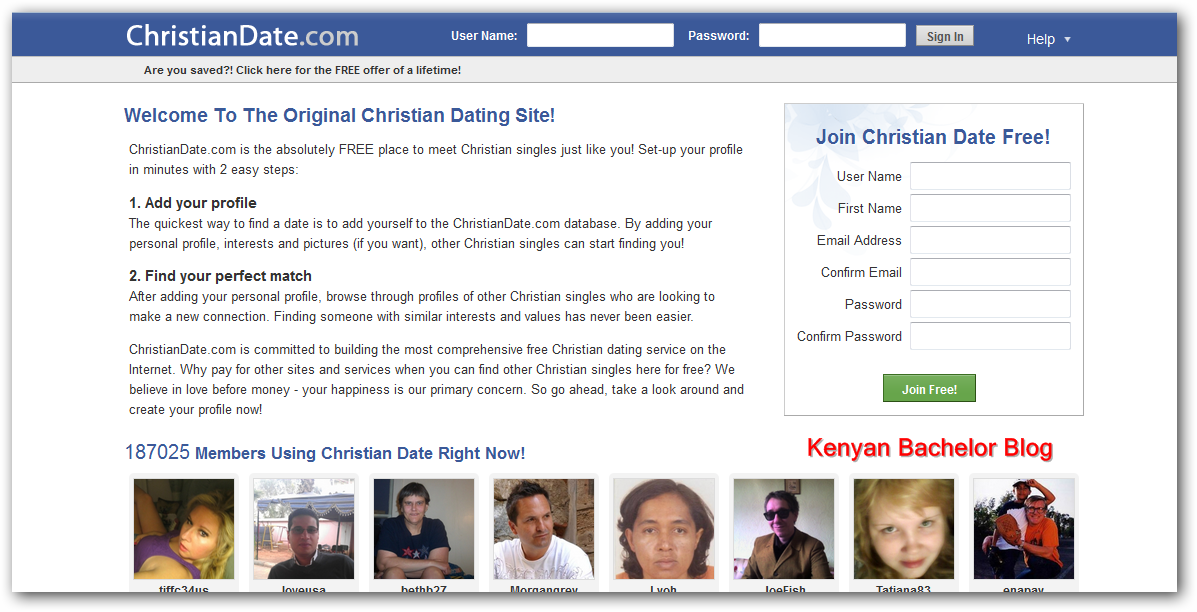Christian dating site profile examples