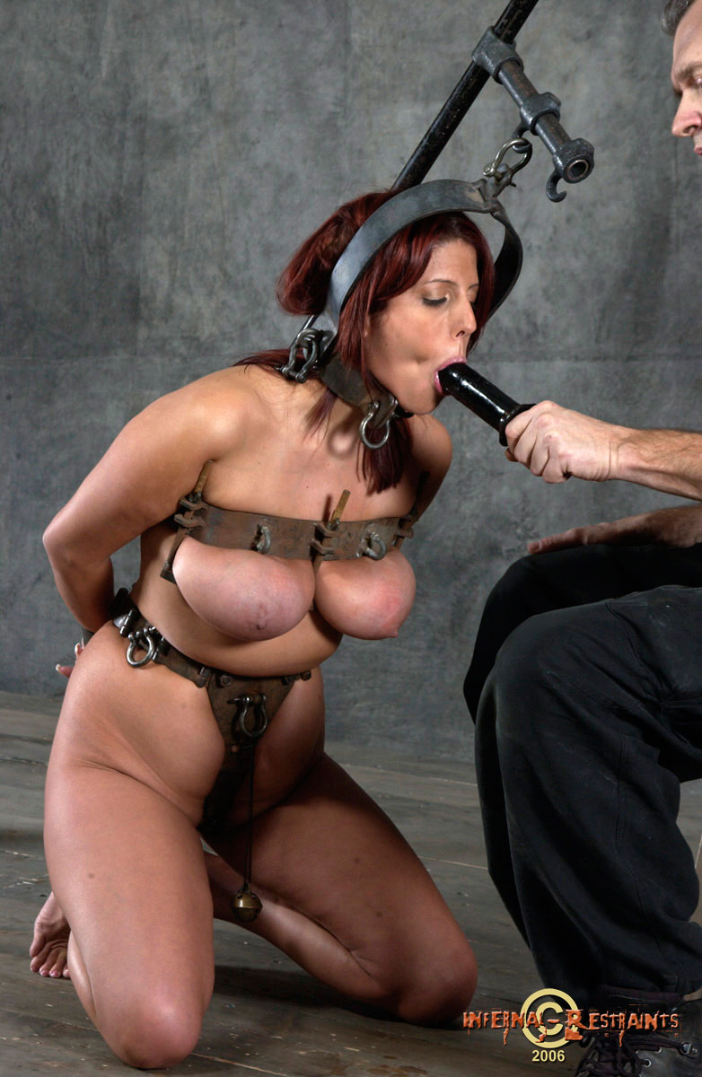 Pictures of models in bondage