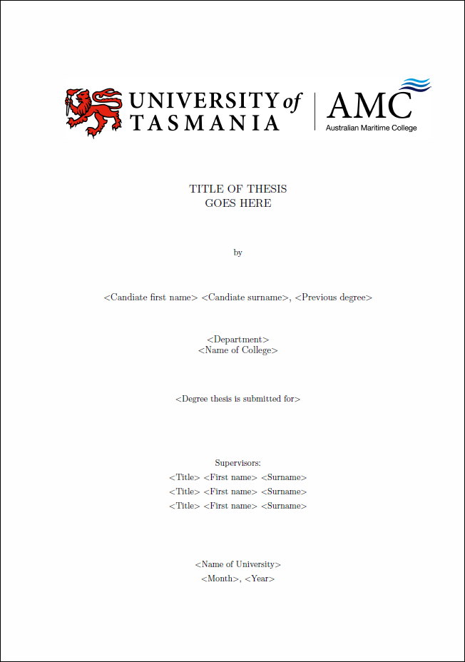 Write A Phd Thesis With Latex