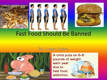 Should junk food be banned in school? - Quora