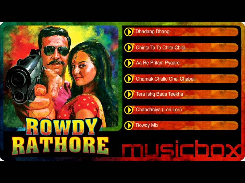 Rowdy Rathore (2012) MP3 Songs Free Download Rowdy Rathore