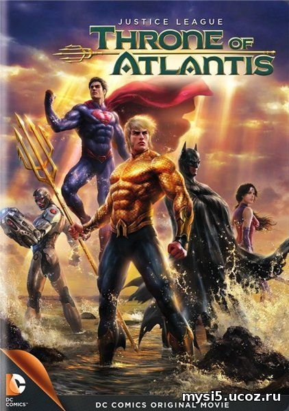 Watch Justice League: Throne of Atlantis (2015) Online