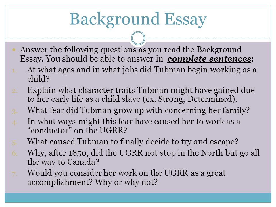 Essay Paper Checker Harriet Tubman Free Short Essay  Find Your Essay Writer How To Write An Essay Proposal also How To Write An Essay With A Thesis Write My Harriet Tubman Essay Healthy Food Essays