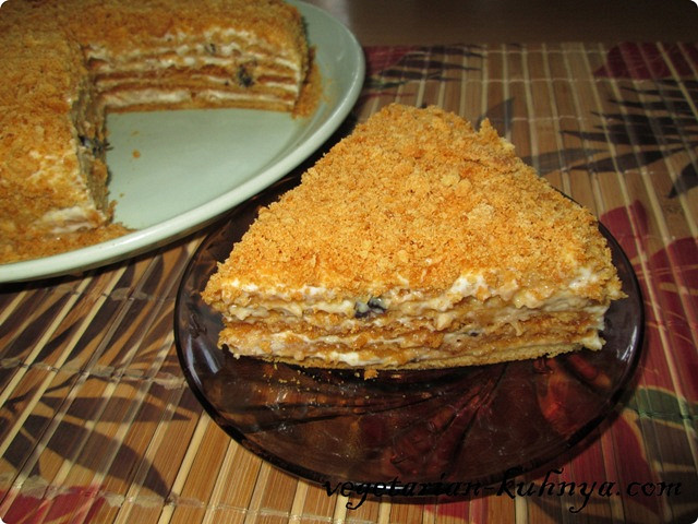Рецепт торта без яиц быстрый рецепт