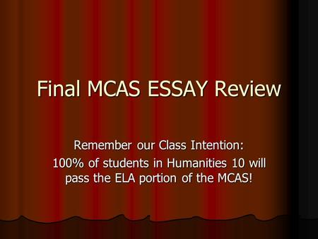 Paragraph Essay - How To Write Five Paragraph