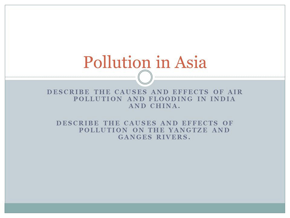 Essay about air pollution in malaysia