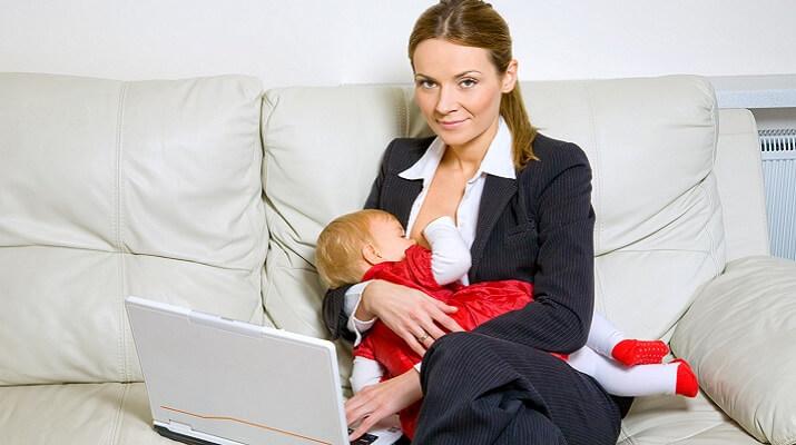 Как можно заработать сидя дома с ребенком без