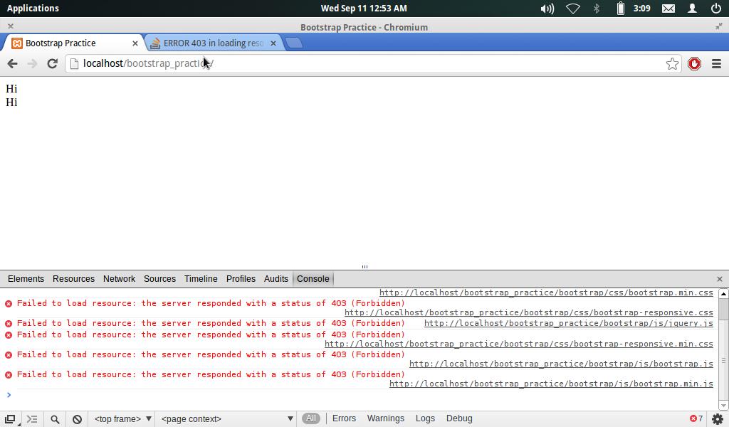 3 error: The remote server returned an error: (403