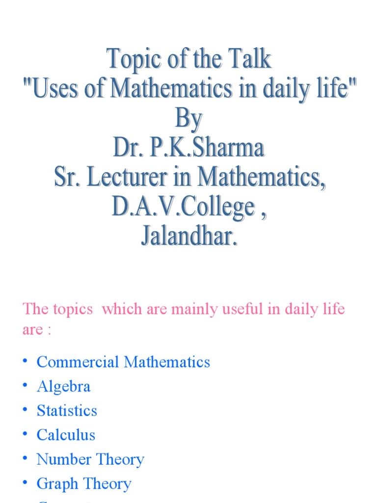 Lists of mathematics topics - Wikipedia