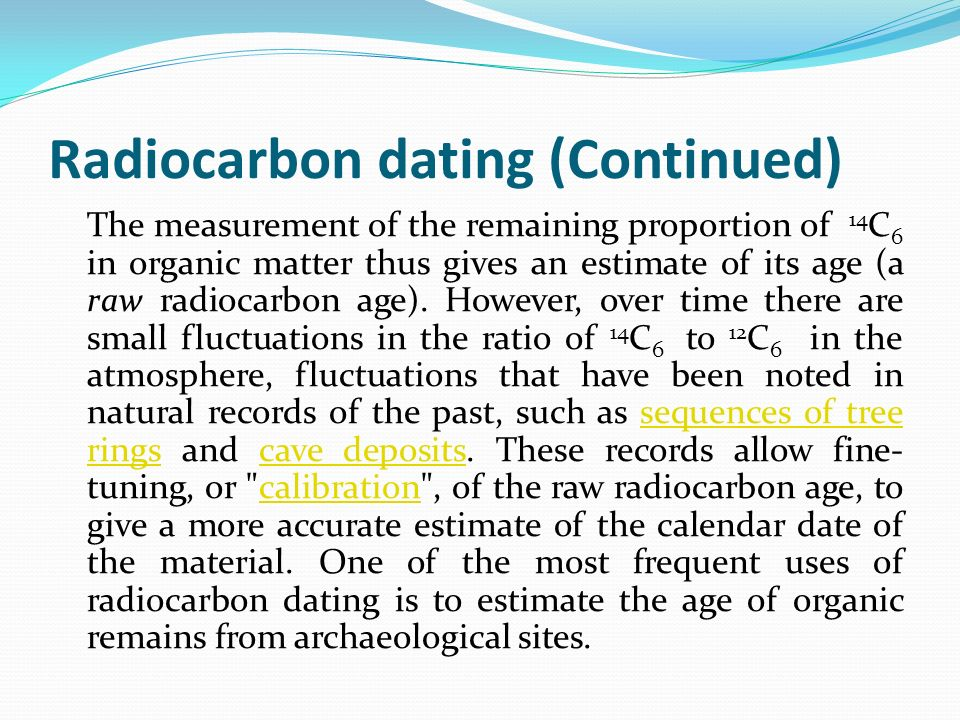 Carbon dating creationist argument