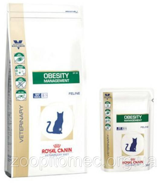 Корм royal canin obesity management сухой