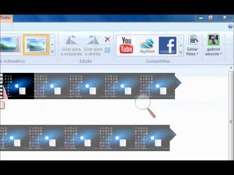 Como salvar arquivos em AVI com o Movie Maker