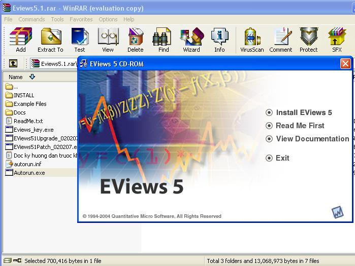 Eviews 95 Enterprise Edition (Full + Crack) MACnWINS