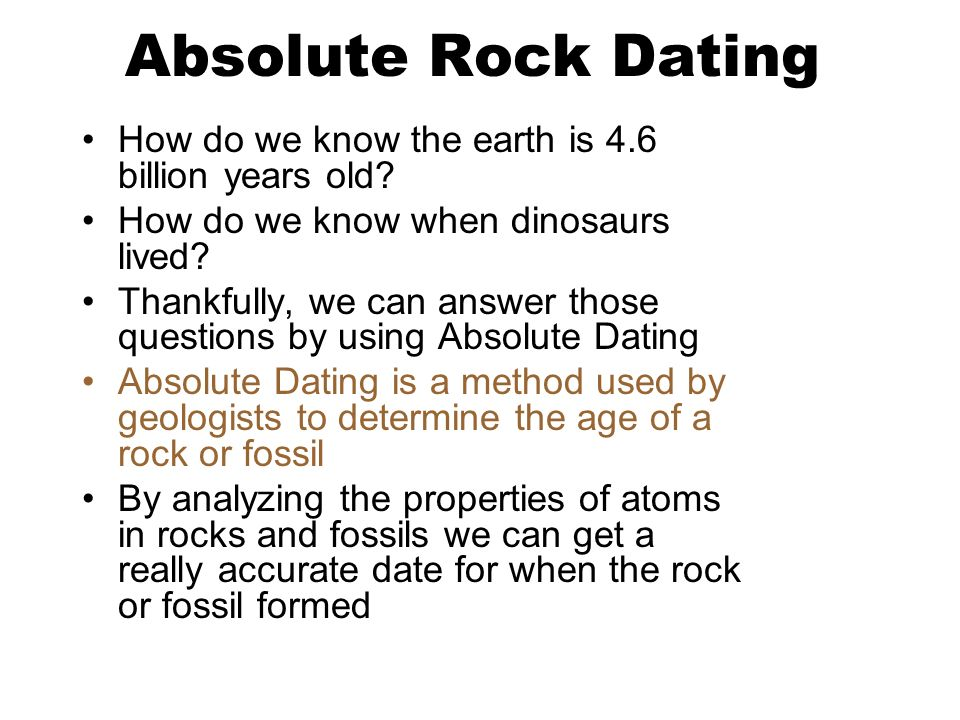 How to do radiometric dating problems