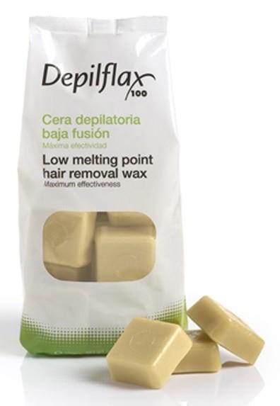 Depilflax горячий воск для депиляции в гранулах шоколадный 600 гр