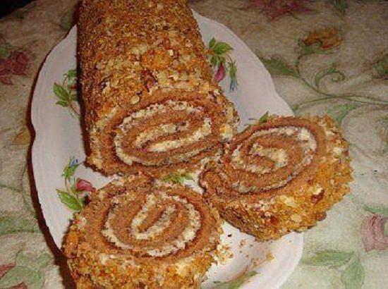 Бисквитный пирог быстрый рецепт