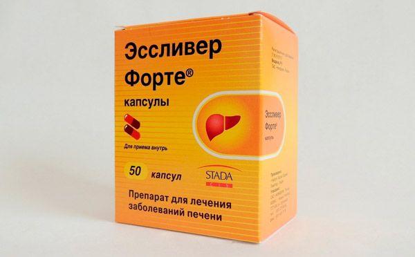 Таблетки от печени после запоя