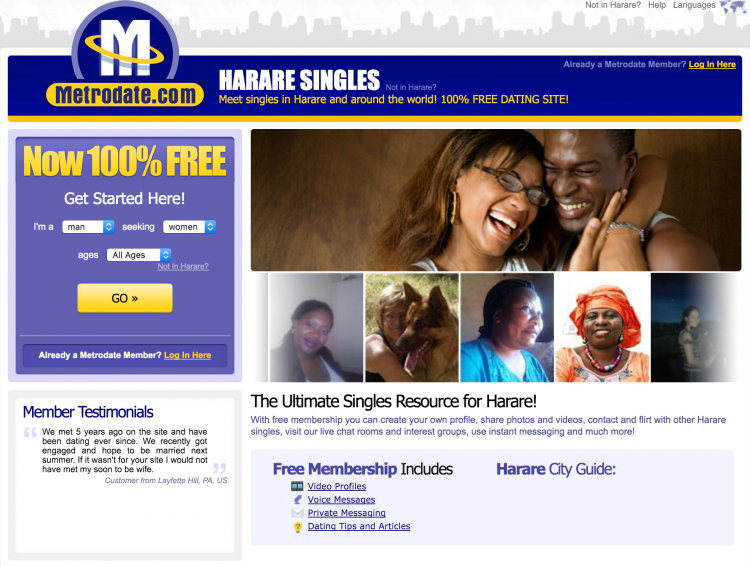 0 Free Dating Sites In The World