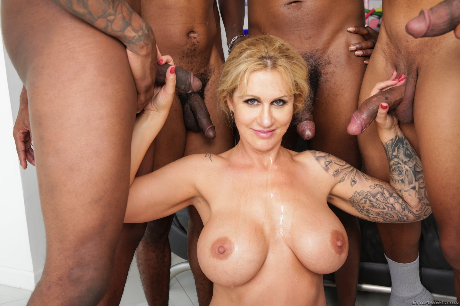 Huge tit gangbang gallery have forgotten