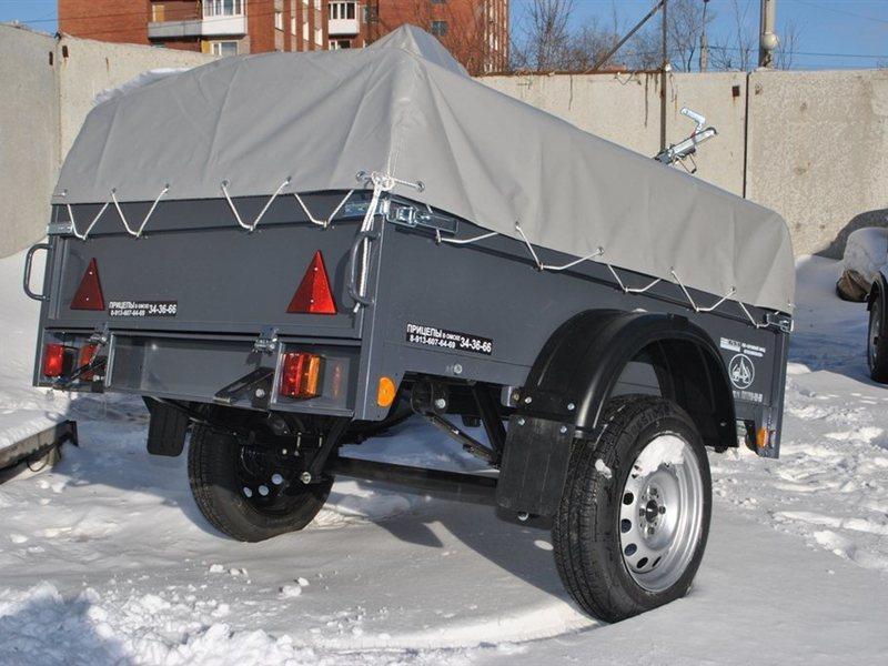 Новый прицеп для легкового автомобиля в новокузнецке