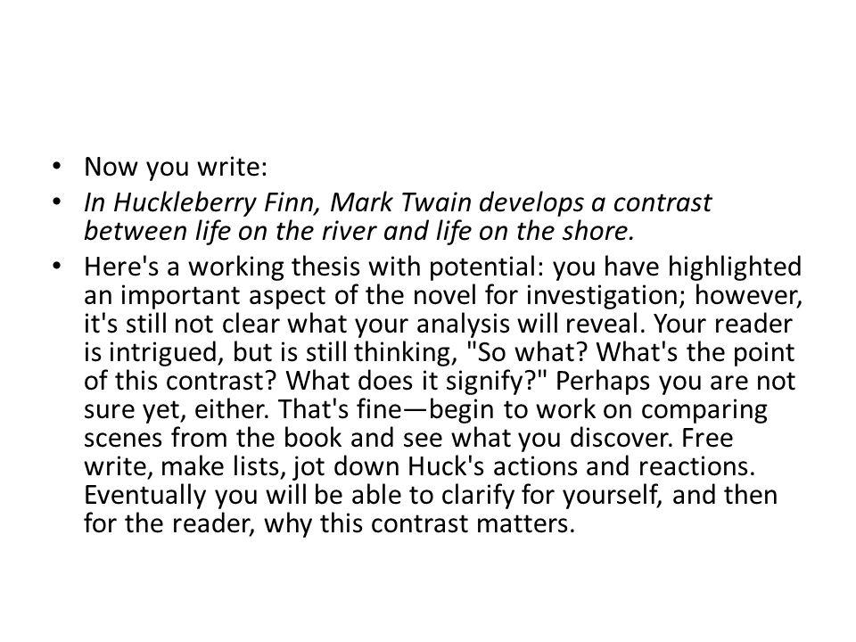 Write my mark twain essay