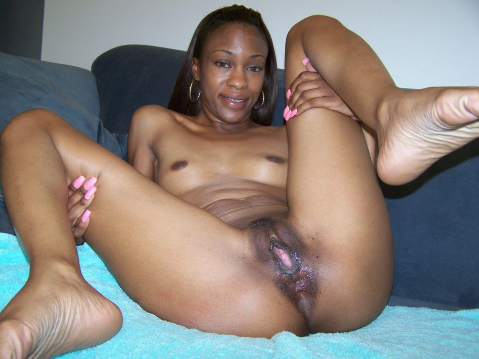Busty and chubby naked black women