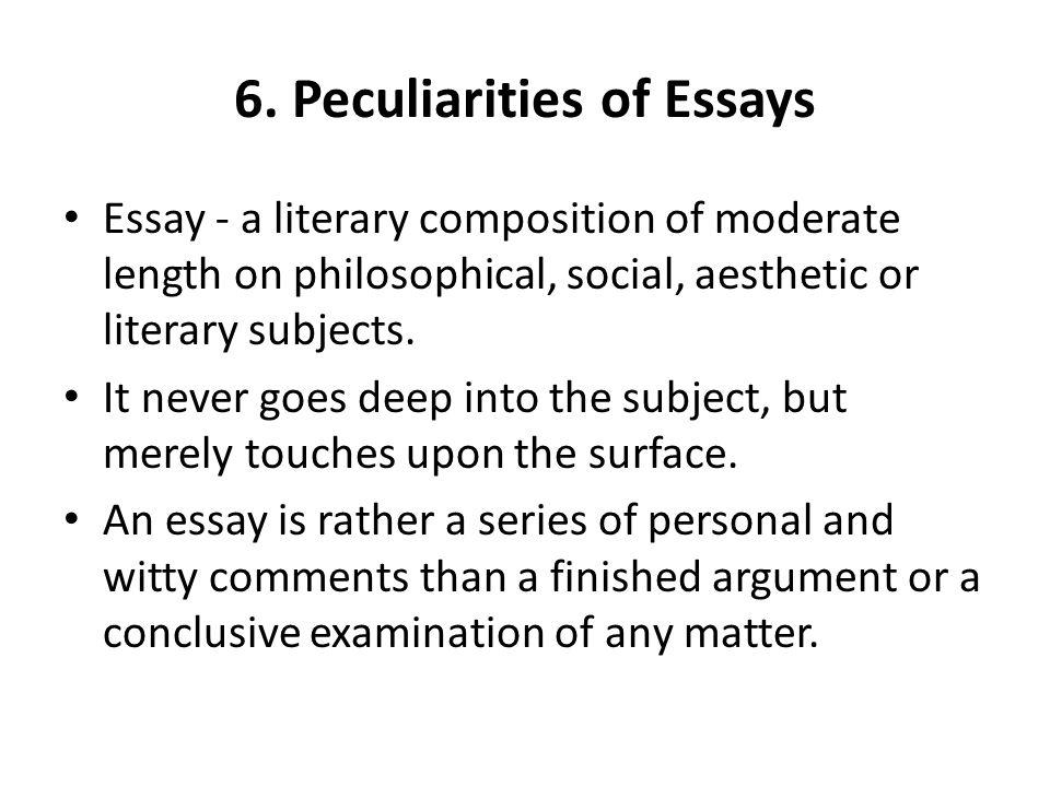 Memoir essay ideas