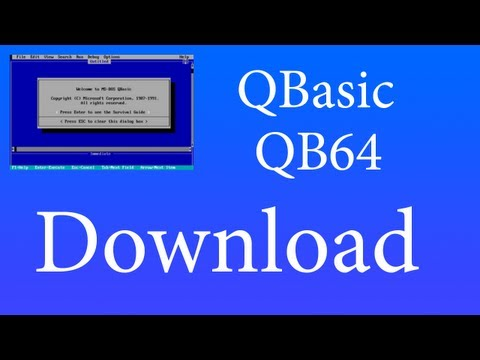 Microsoft Qbasic Download Software - Free Download