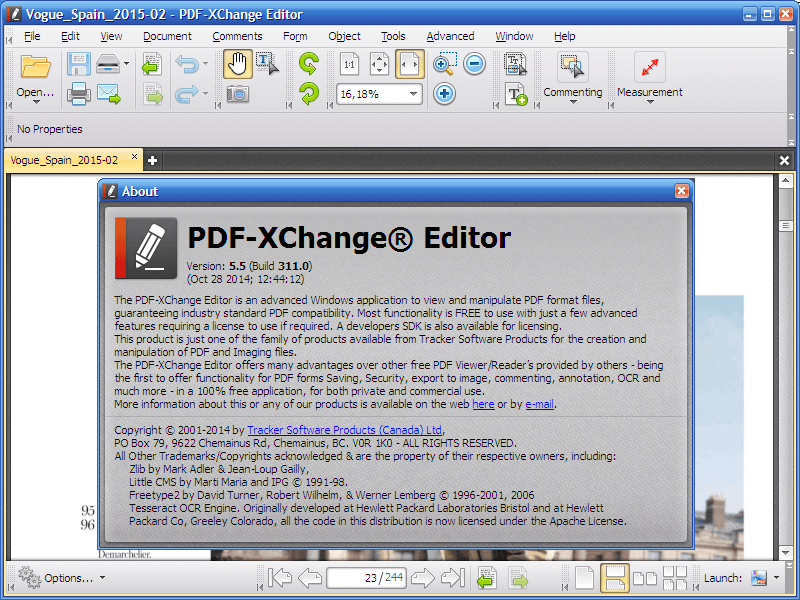 PDF-XChange Editor 6 Crack Serial Key Full Download